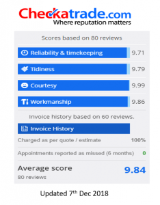 Sovereign home Improvements - CheckATrade.com - Dec 2018