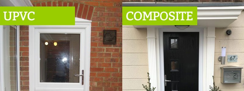 upvc compared composite doors