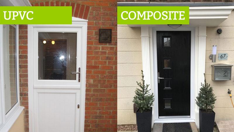 upvc compared composite doors