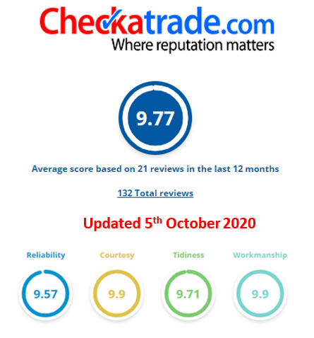 Reviews - Soveriegn Home Improvements - Cheeck- A - Trade reviews and scores, Essex