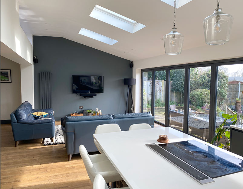 Extensions--double-glazing, sovereign home improvements, essex