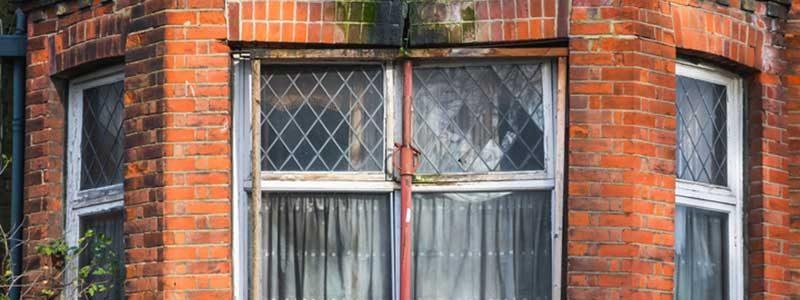 Window in need of repair